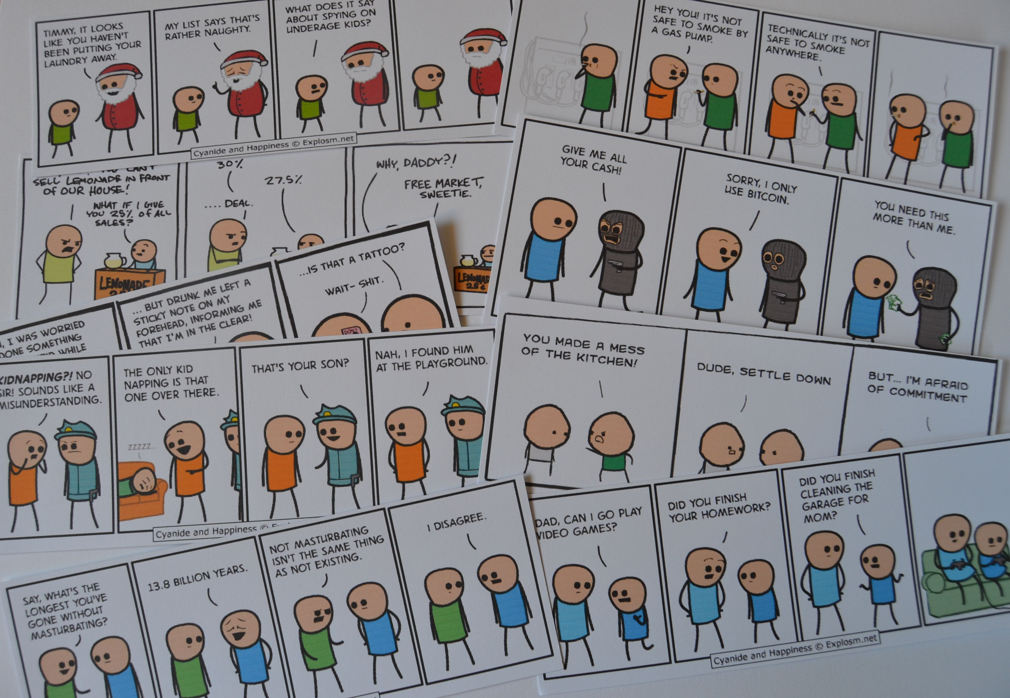 komiksy Cyanide and Happiness